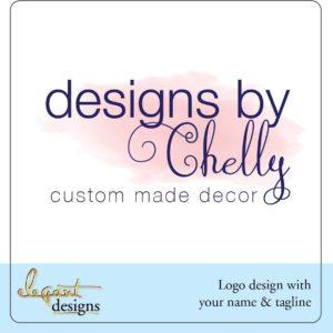 Designs by [name] premade logo