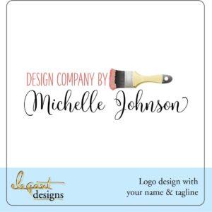 Painting or Refinishing company Logo