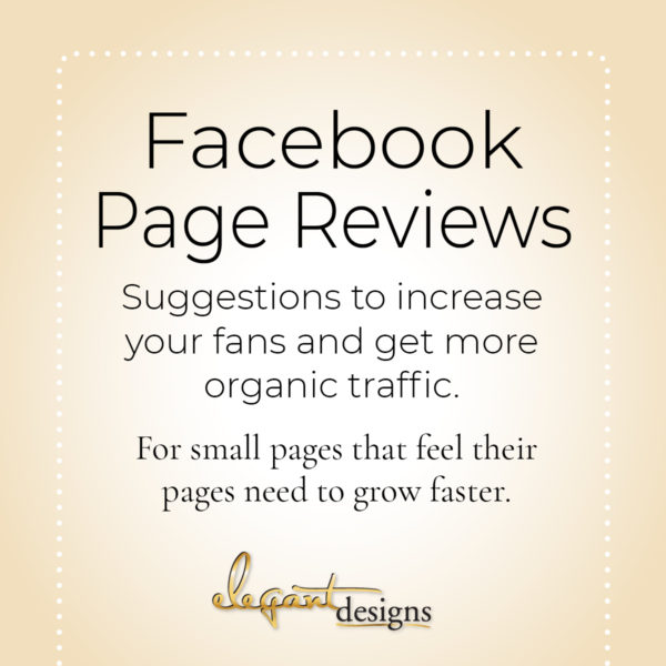 Facebook Page review
