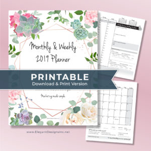 Printable Planner for Creatives