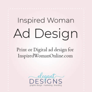 Inspired Woman Ad Design
